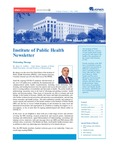 Institute of Public Health Newsletter- Volume1, Issue 3 by Institute of Public Health (IPH) - CMHS