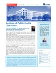 Institute of Public Health Newsletter- Volume2, Issue1 by Institute of Public Health (IPH) - CMHS